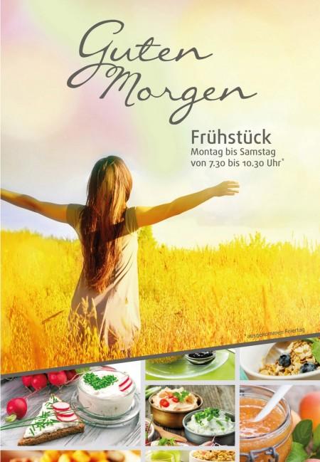 Frühstückskarte Titelseite